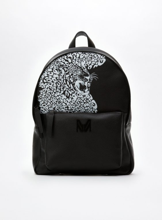 unisex printed backpack