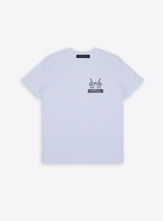 whatever patch t-shirt